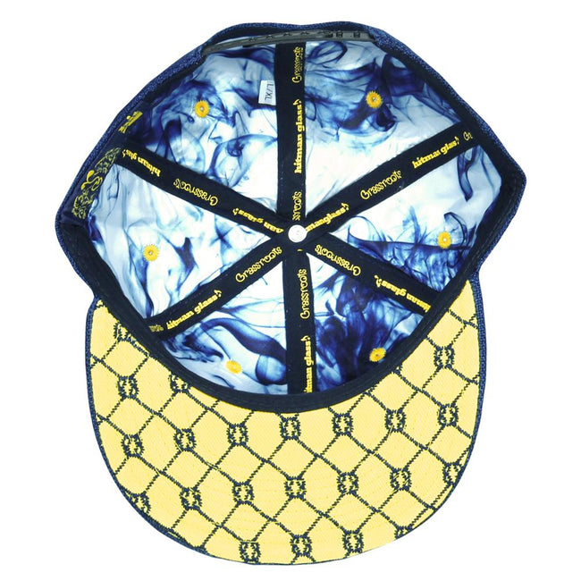 Hitman Glass Navy V2 Snapback Hat