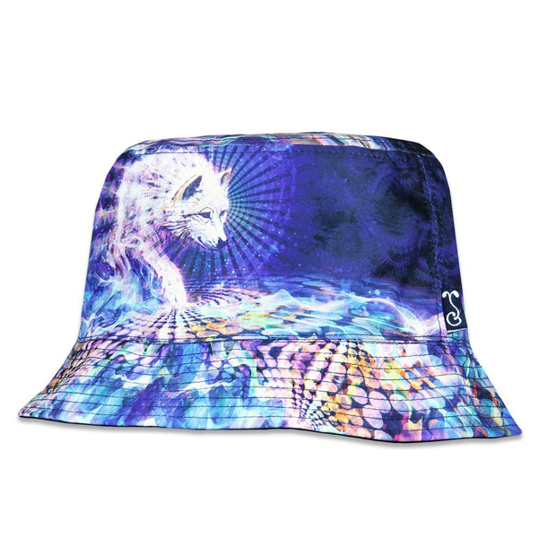 177e43ade96 Simon Haiduk Spirit Wolf Reversible Bucket Hat – Grassroots California