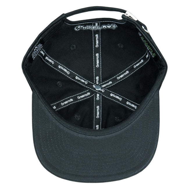 Capital G Black Dad Hat