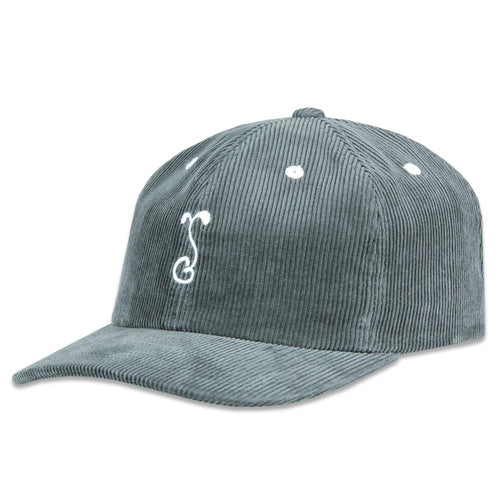 G Sprout Gray Corduroy Dad Hat