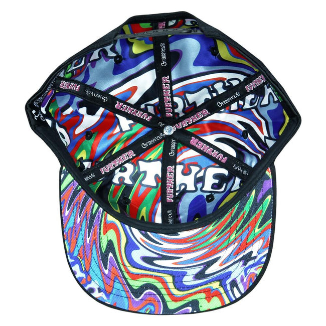 Further Bus Black Snapback Hat