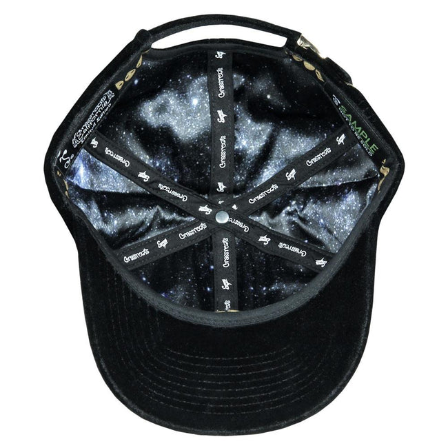 Exmag Black Velvet Dad Hat