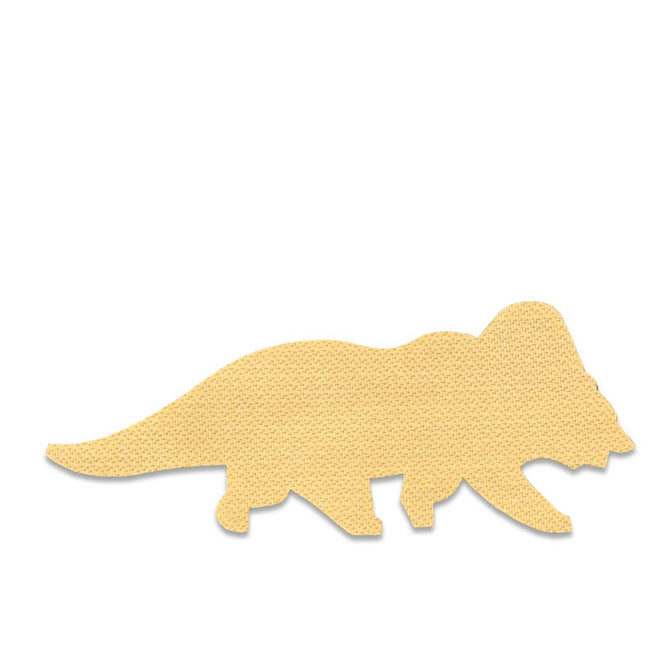 Tribearitops Gold Removable Bear Patch