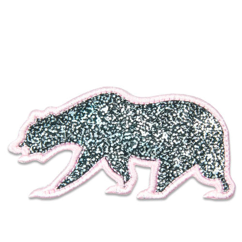 Pink Sparkles Removable Bear Patch