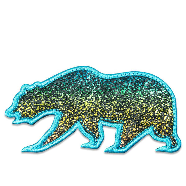 Rainbow Sparkles Removable Bear Patch