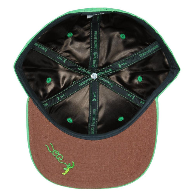 Cali Greens Fine Hemp Fitted Hat
