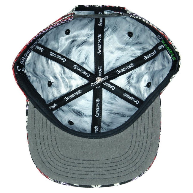 Removable Bear Forage Snapback Hat