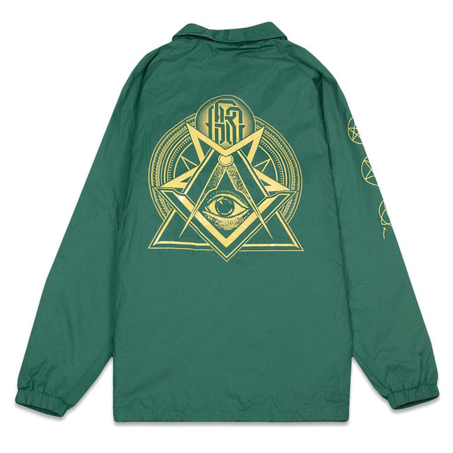 Secret Society Green Coaches Jacket