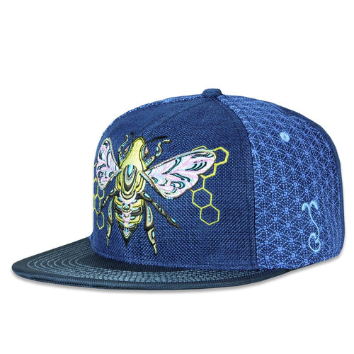 Honey Fund Blue Fitted Hat