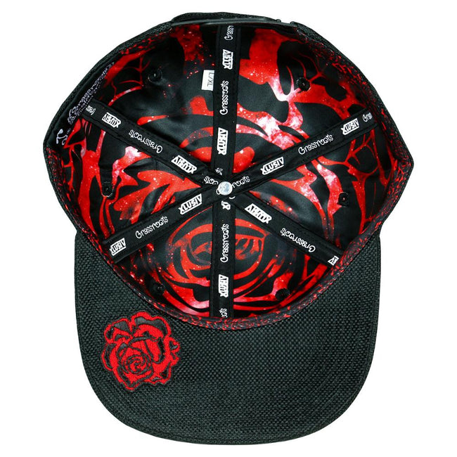 Xlusiv Rose Black Snapback Hat