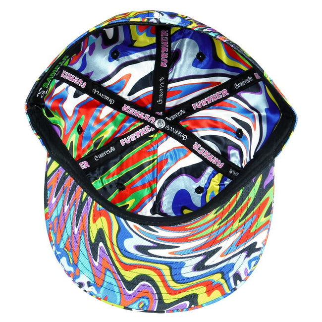 Further Bus Psychedelic Fitted Hat