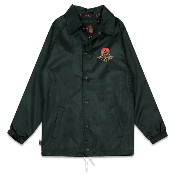 Danger Zone Black Coaches Jacket