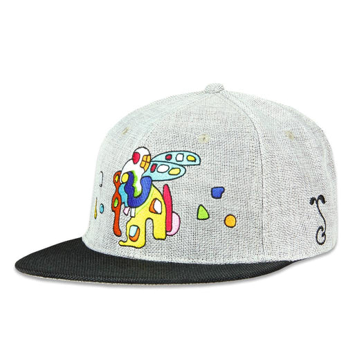 Jerry Garcia Space Container Gray Fitted Hat