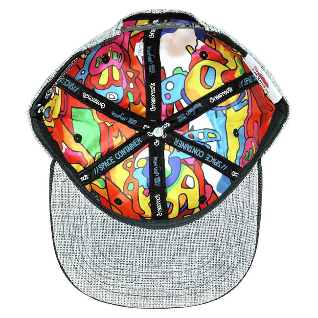 Jerry Garcia Space Container Party Gray Snapback Hat