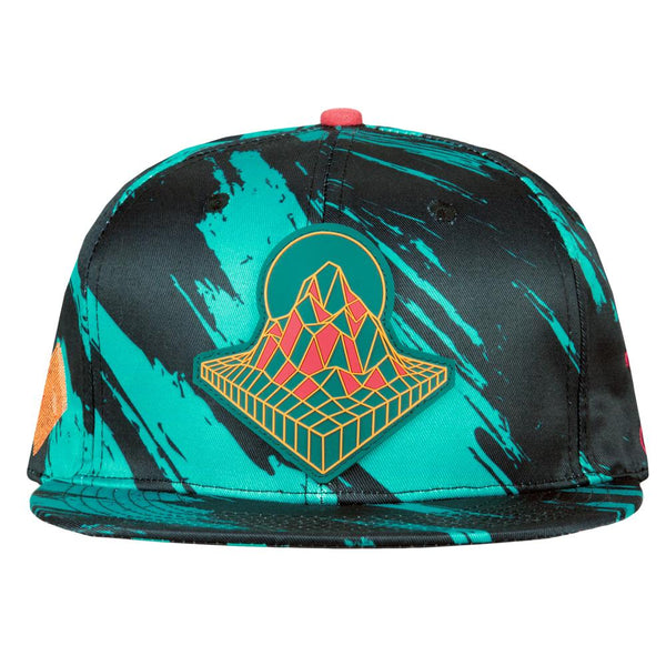Danger Zone Shred Fitted Hat