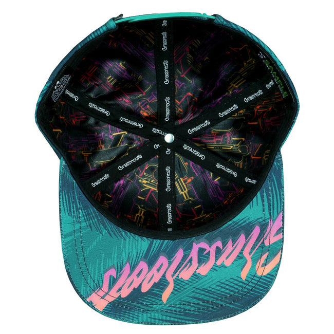 Danger Zone Palms Snapback Hat
