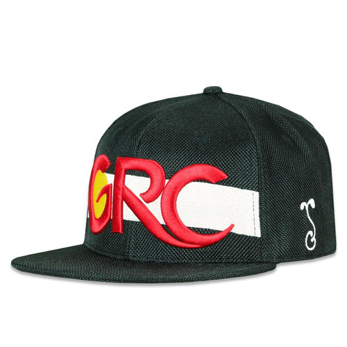 GRColorado Flag Black Snapback Hat