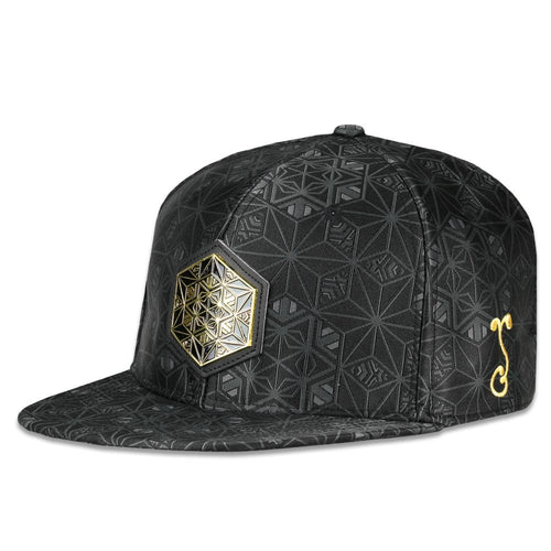 Back to the Matrix V2 Gold Strapback Hat