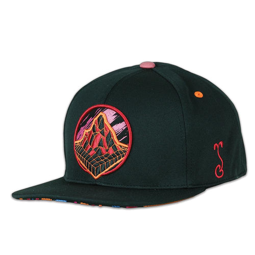Danger Zone Black Fitted Hat
