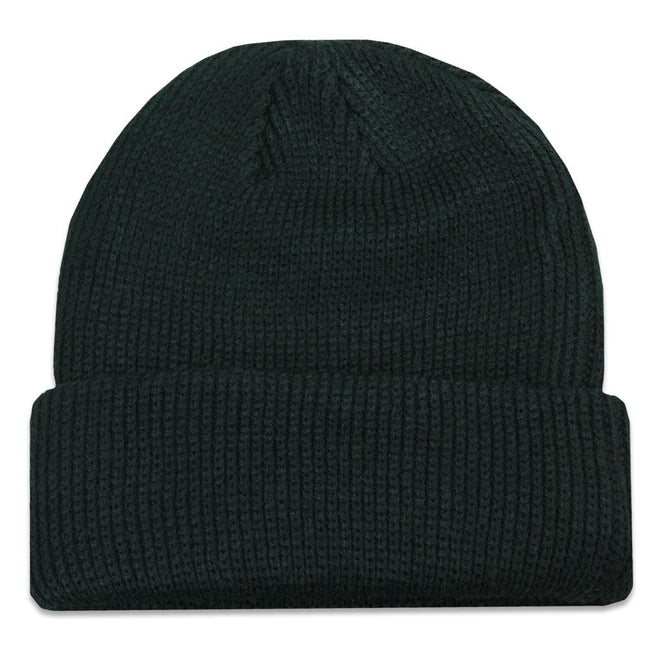 Freestyle Black Cuff Beanie