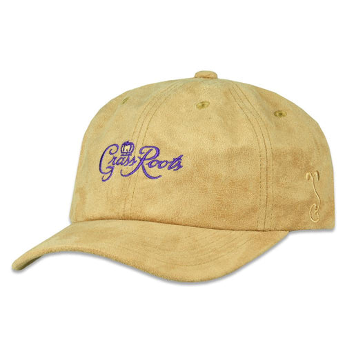 Royal Roots Tan Suede Dad Hat