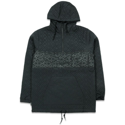 Digital Diamondback Midweight Black Anorak Jacket