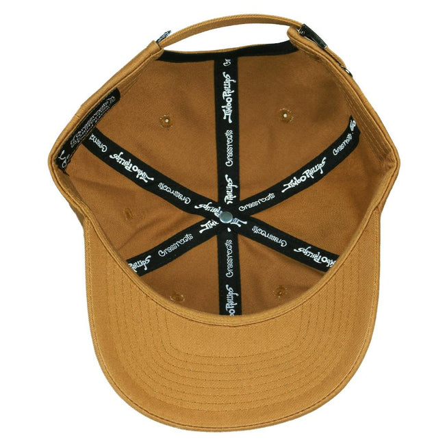 Jimbo Phillips Cali Bear Brown Dad Hat