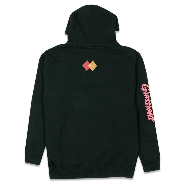 Danger Zone Black Heavyweight Pullover Hoodie