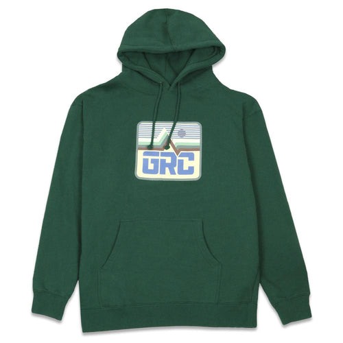 Freestyle Badge Forest Heavyweight Pullover Hoodie