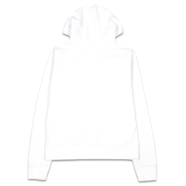 Freestyle Badge Womens White Pullover Hoodie