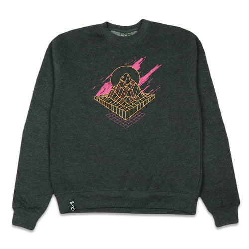 Danger Zone Charcoal Crewneck Sweatshirt