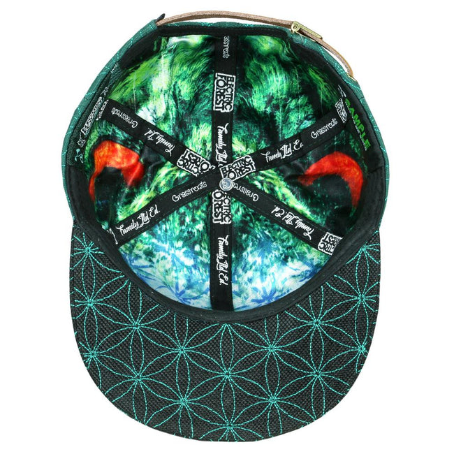 Electric Forest Family 2019 Green Strapback Hat