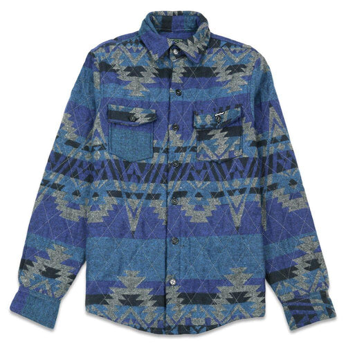 Sedona Blue Insulated Flannel Jacket