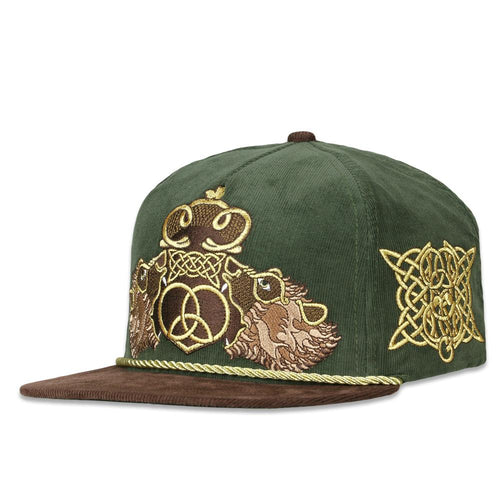 Celtic Bear Brown Strapback Hat