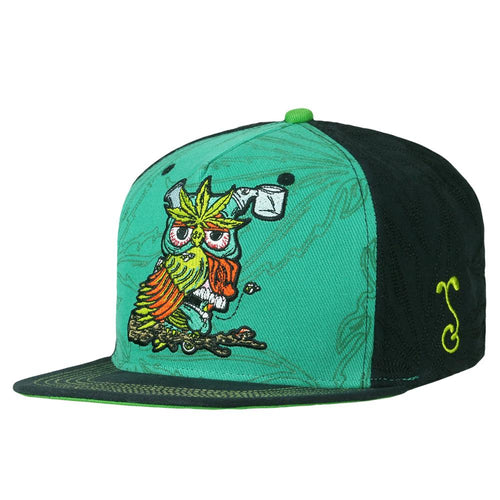 Aaron Brooks Herbowl Leaf Snapback Hat