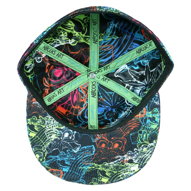 Aaron Brooks Herbowl Rainbow Fitted Hat