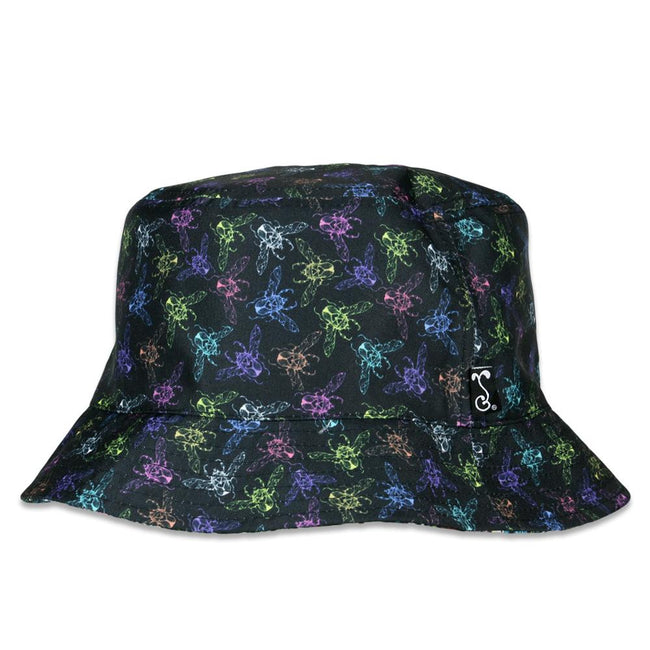Ellie Paisley Love Bug Reversible Bucket Hat