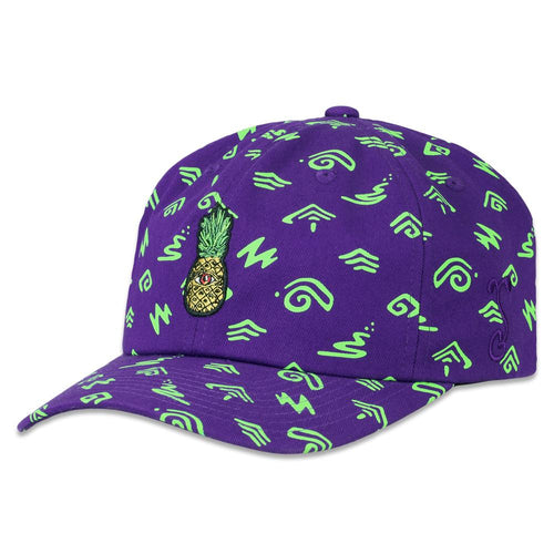 57b3ecf2e30 Ellie Paisley Eyenapple Purple Dad Hat