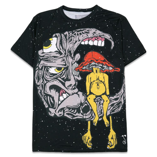 Aaron Brooks Lunar Meets Fungus T Shirt