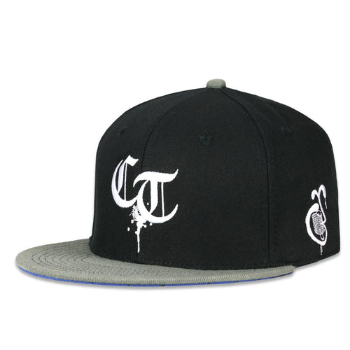 Chicago Truborn Black Snapback Hat