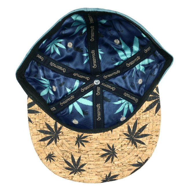 Dank Blue Cork Fitted Hat