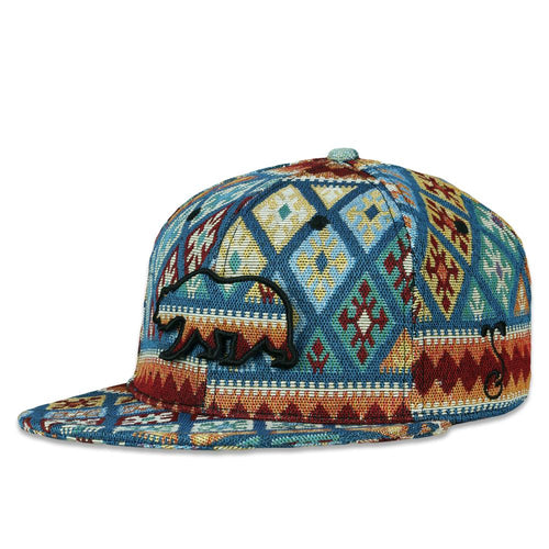 Removable Bear Argyle Andes Fitted Hat