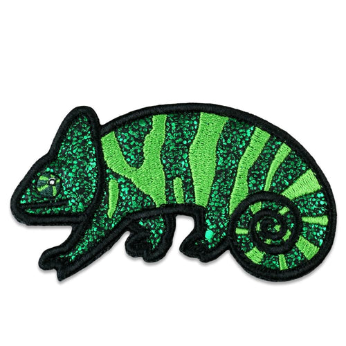 Green Chameleon Removable Patch