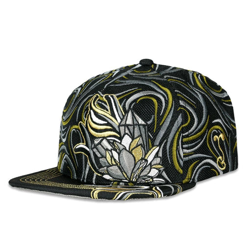 10th Anniversary Black Gold Snapback Hat
