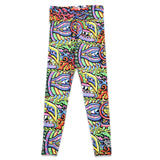 Chris Dyer Rainbow Serpent Red Yoga Pants