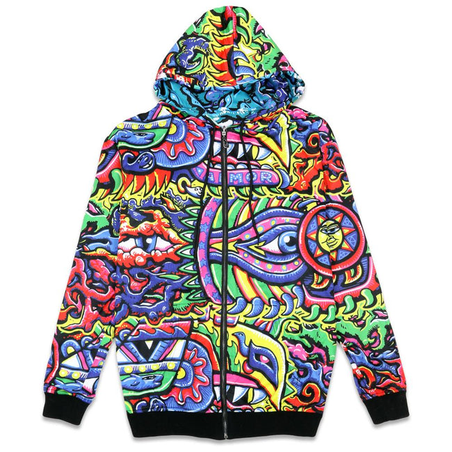 Chris Dyer Rainbow Serpent Reversible Hoodie