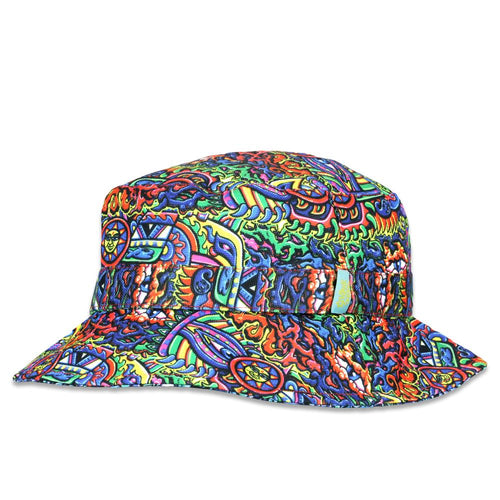 Chris Dyer Rainbow Serpent Reversible Bucket Hat