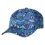 Chris Dyer Rainbow Serpent Blue Dad Hat