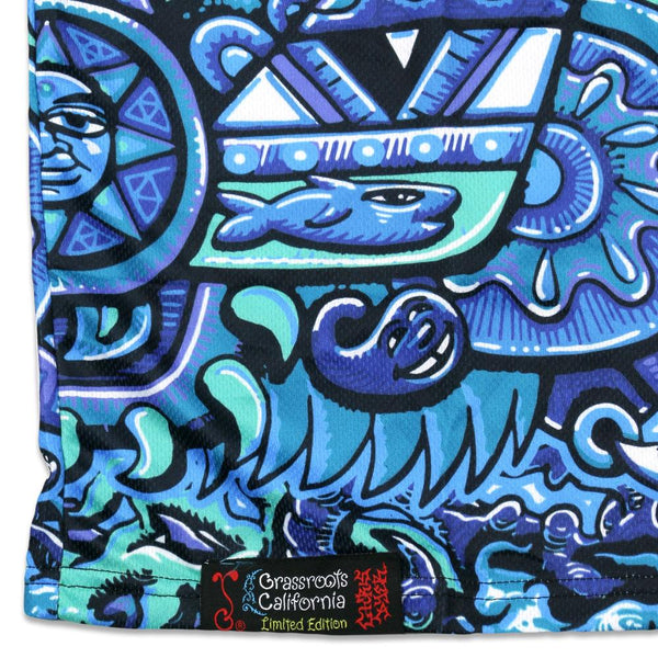 Chris Dyer Rainbow Serpent Blue Jersey