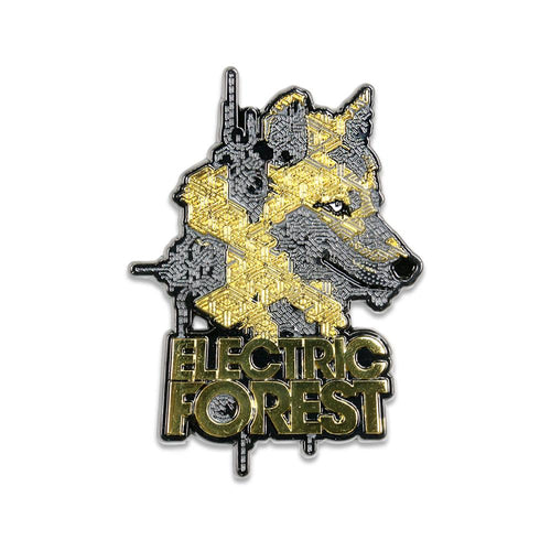 Electric Forest 2019 Wolf Pin